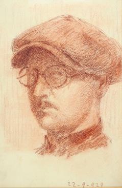 Autoritratto 1929 (b)