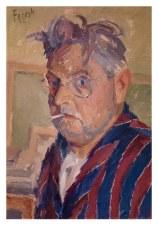 Autoritratto 1952 - olio su cartone 35x50 (a)