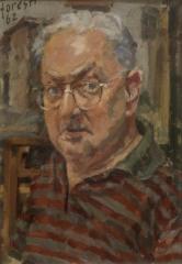 Autoritratto 1962 - olio su tela 33x48 (a)