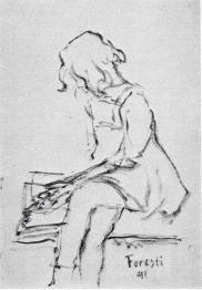 Bambina che legge (s)
