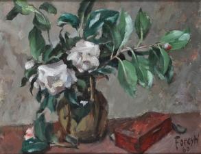 Gardenia 1960 - olio su tela 49x39 (c)
